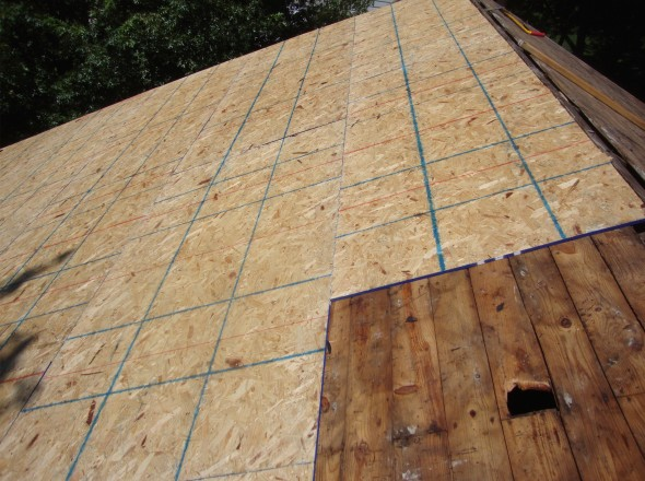 Swarthmore roofers southern pa roofing contractors for Roof sheathing thickness