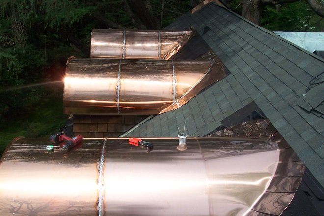 Custom Copper Roofing Professional Roofers In Delaware